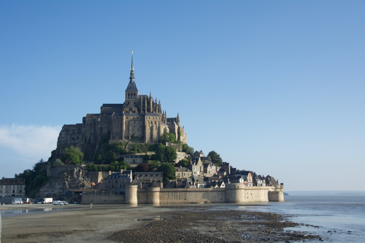 Mont st michel iero for Au jardin st michel pontorson france